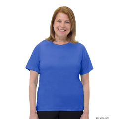SIL248300403 - Silverts - Adaptive T Shirt Solid Color For Women