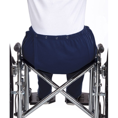 SIL250500204 - Silverts - Womens Adaptive Open Back Fleece Pants