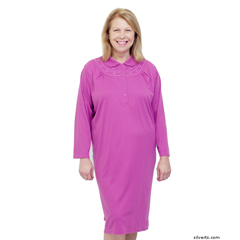 SIL260100403 - Silverts - Adaptive Open Back Nightgown