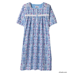 SIL261800201 - SilvertsPretty Summer Hospital Nightgown