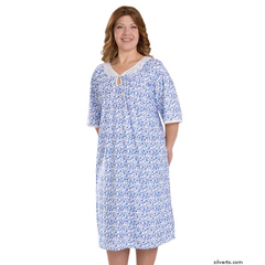 SIL262810702 - Silverts - Adaptive Hospital Patient Gowns For Women