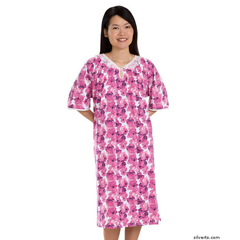 SIL262810802 - Silverts - Adaptive Hospital Patient Gowns For Women