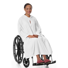 SIL302000101 - Silverts - Terry Wheelchair Poncho