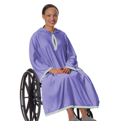 SIL302000301 - Silverts - Terry Wheelchair Poncho