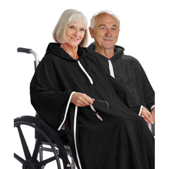 SIL302000401 - Silverts - Terry Wheelchair Poncho