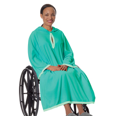 SIL302000501 - Silverts - Terry Wheelchair Poncho