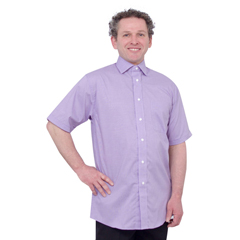 SIL401000505 - Silverts - Arthritis & Parkinsons Mens Magnetic Closing Shirts