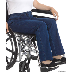 SIL470200102 - Silverts - Womens Designer Wheelchair Jeans