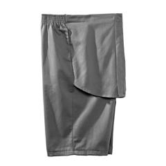 SIL500400802 - Silverts - Mens Elastic Waist Cotton Adaptive Shorts