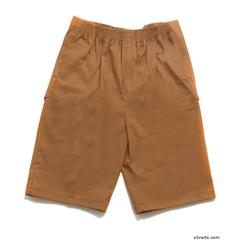 SIL500401002 - Silverts - Mens Elastic Waist Cotton Adaptive Shorts
