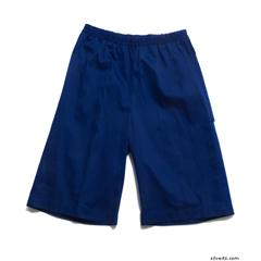 SIL500401102 - Silverts - Mens Elastic Waist Cotton Adaptive Shorts