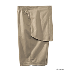 SIL500401302 - Silverts - Mens Elastic Waist Cotton Adaptive Shorts