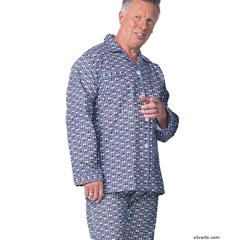 SIL500900103 - SilvertsMens Cotton Pajamas