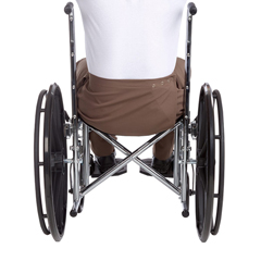 SIL502200303 - Silverts - Mens Adaptive Apparel Wheelchair Pants