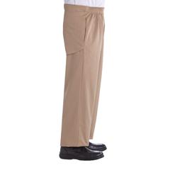 SIL502300504 - Silverts - Mens Cotton Open Back Adaptive Wheelchair Pants