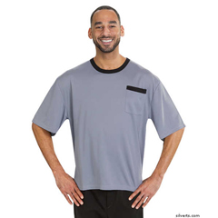 SIL505400704 - Silverts - Adaptive T-Shirt Top For Men