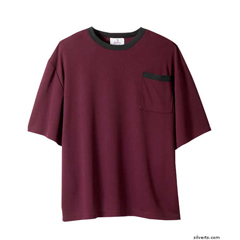 SIL505400801 - Silverts - Adaptive T-Shirt Top For Men