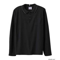 SIL507811002 - Silverts - Adaptive Polo Shirt Top For Men