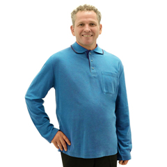 SIL507811102 - Silverts - Adaptive Polo Shirt Top For Men