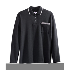 SIL507810201 - Silverts - Adaptive Polo Shirt Top For Men