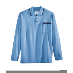 SIL507810502 - Silverts - Adaptive Polo Shirt Top For Men