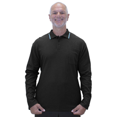 SIL507810701 - Silverts - Adaptive Polo Shirt Top For Men