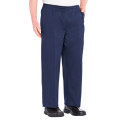 SIL507910102 - Silverts - Full Elastic Waist Pants For Men