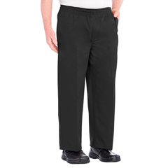 SIL507900302 - Silverts - Full Elastic Waist Pants For Men