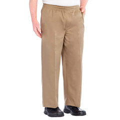 SIL507900504 - Silverts - Full Elastic Waist Pants For Men