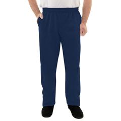 SIL508200104 - Silverts - Mens Elastic Waist Fleece Track Pants