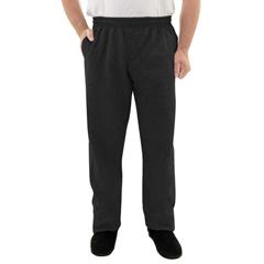 SIL508200202 - Silverts - Mens Elastic Waist Fleece Track Pants
