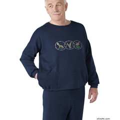 SIL510300105 - SilvertsAdaptive Fleece Sweatshirt Top