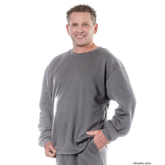 SIL510310407 - SilvertsAdaptive Fleece Sweatshirt Top