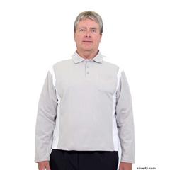 SIL518310401 - Silverts - Adaptive Polo Shirt For Men