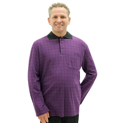 SIL518301804 - Silverts - Adaptive Polo Shirt For Men