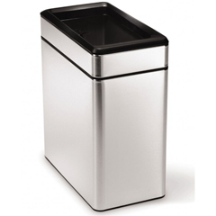 SIMCW1225 - Simplehuman10L (2 Gallon) Profile Open Can Waste Receptacle
