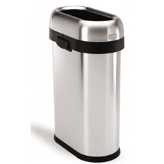 SIMCW1467 - Simplehuman - 50L (12 Gallons) Slim Open Can Waste Receptacle