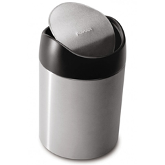 SIMCW1637CB - Simplehuman1.5L Countertop Can Waste Receptacle