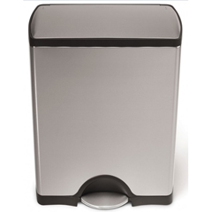 SIMCW1816 - Simplehuman50L (12 Gallon) Rectangular Step Can Waste Receptacle