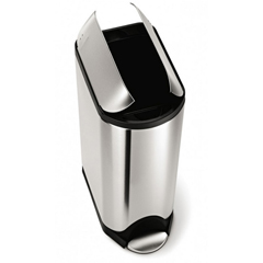 SIMCW1897 - Simplehuman45L (11 Gallon) Butterfly Step Can Waste Receptacle