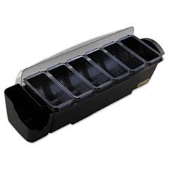 SJMBD4006S - San Jamar® The Dome® Bar Garnish & Straw/Stick Dispenser