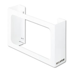 SJMG0804 - San Jamar® White Enamel Disposable Glove Dispenser, Three-Box