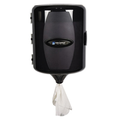 SJMT410TBK - San Jamar® Adjustable Centerpull Towel Dispenser