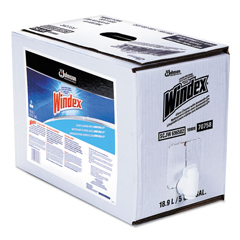 SJN696502 - Windex® Formula Glass/Surface Cleaner, 5gal Bag-in-Box Dispenser
