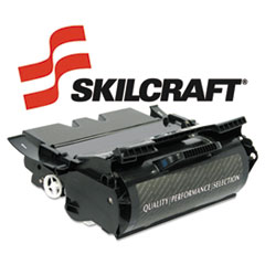 SKL64015HAL - SKILCRAFT Remanufactured 64035HA (T640) High-Yld Toner, 21000 Page-Yld, Blk