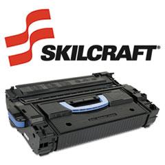 SKLC8543X - SKILCRAFT Remanufactured C8543X, (43X) High-Yld Toner, 30000 Page-Yld, Blk