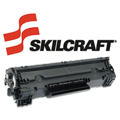 SKLCB435A - SKILCRAFT Remanufactured CB435A (35A) Toner, 1500 Page-Yield, Black