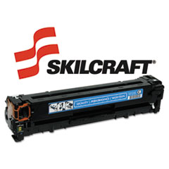 SKLCB541A - SKILCRAFT Remanufactured CB541A (125A) Toner, 1500 Page-Yield, Cyan