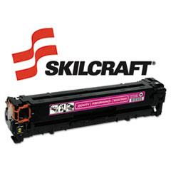SKLCB543A - SKILCRAFT Remanufactured CB543A (125A) Toner, 1500 Page-Yield, Magenta