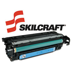 SKLCE251A - SKILCRAFT Remanufactured CE251A (504A) Toner, 7000 Page-Yield, Cyan